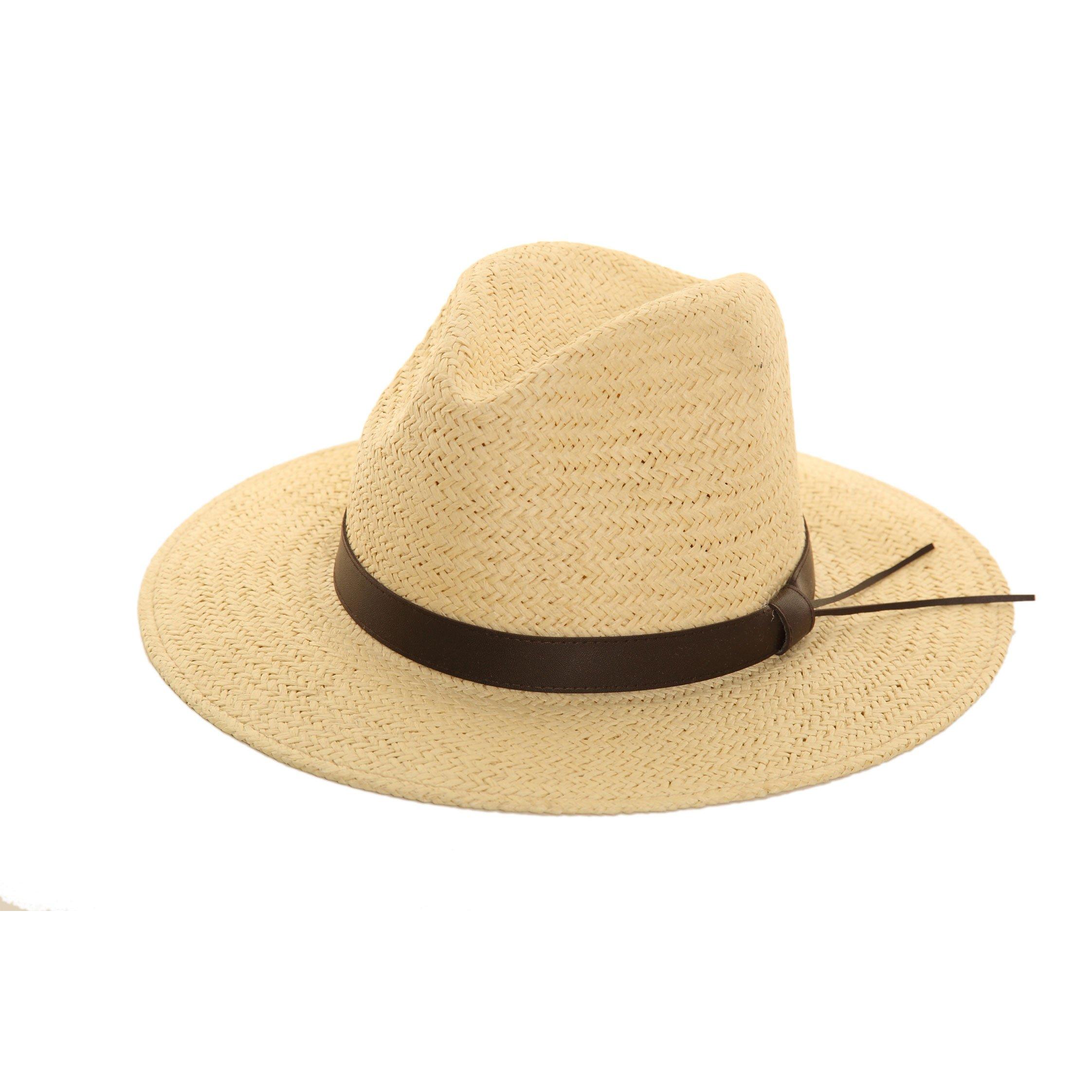 Mens Straw Fedora Ssp Hats