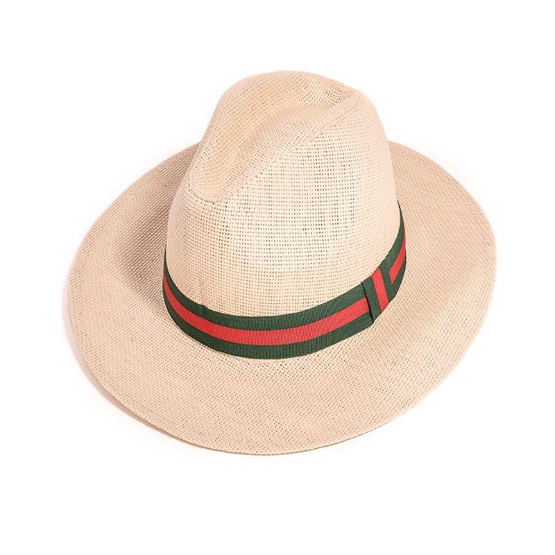 47cbd4dab29 Wholesale straw hats-S296-Mens straw fedora